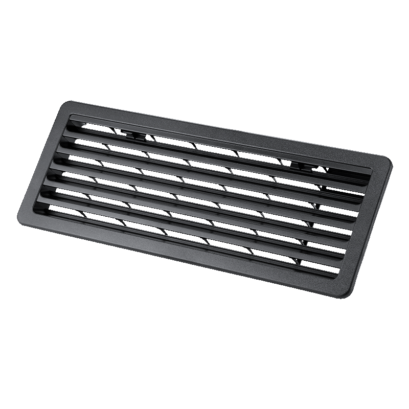 Thetford Bottom Outside Vent for 3-Way Fridges (Black)
