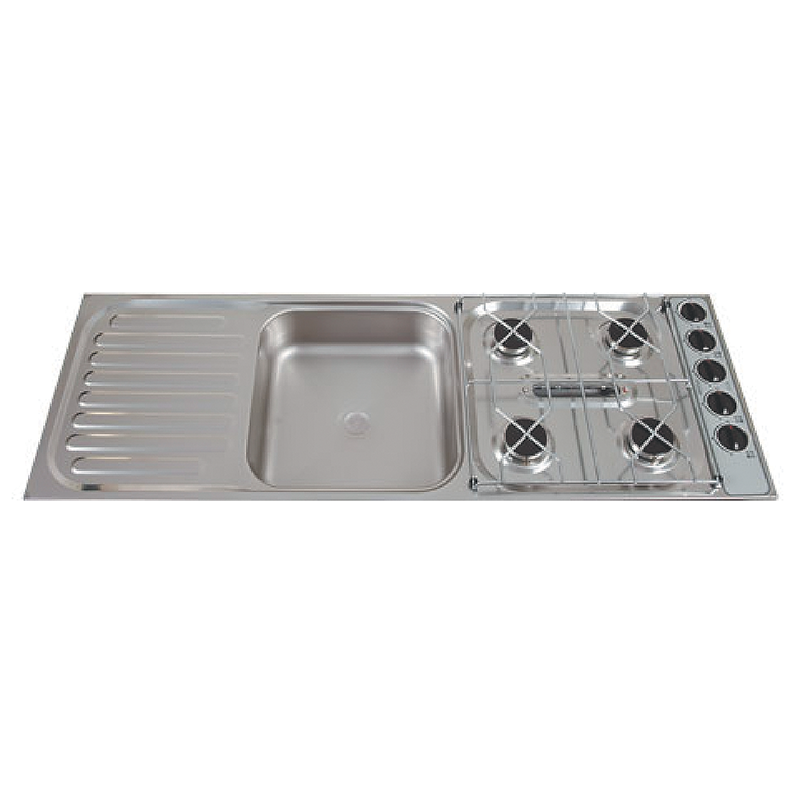 Thetford Combination Units – 4 Burner, Grill and Sink