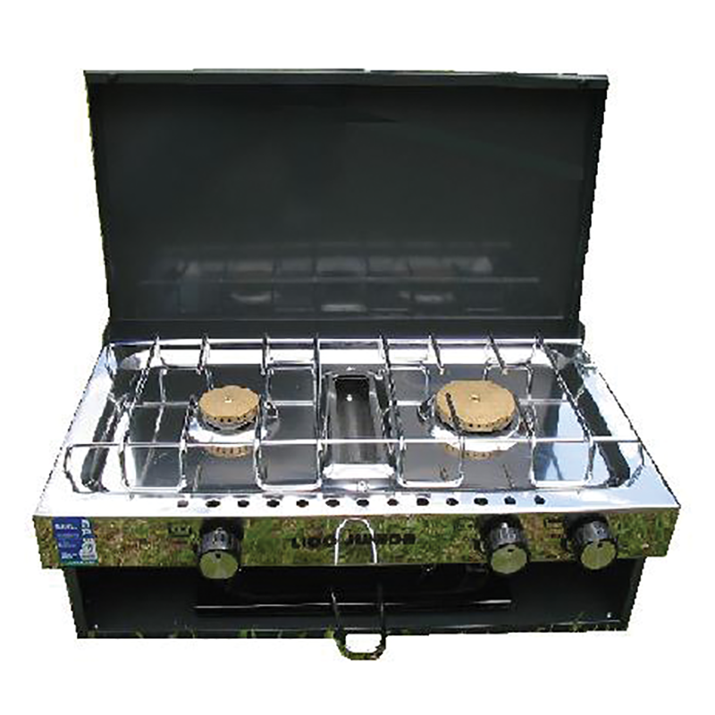 Lido Junior 2 Burner & Grill With Lid