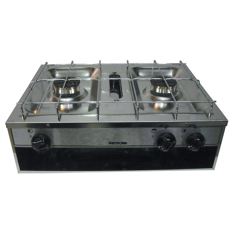 Thetford 2 Burner Grill Stainless Steel