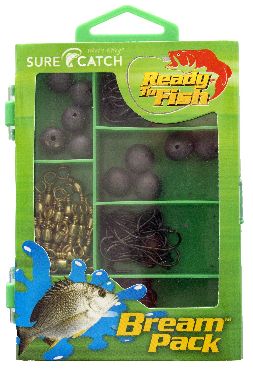 Sure Catch Tackle Essentials Bream Pack  (1 x Kit)