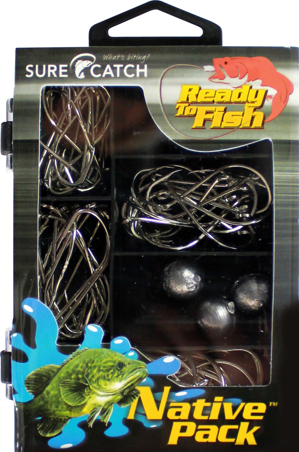 Sure Catch Tackle Essentials Native Pack  (1 x Kit)