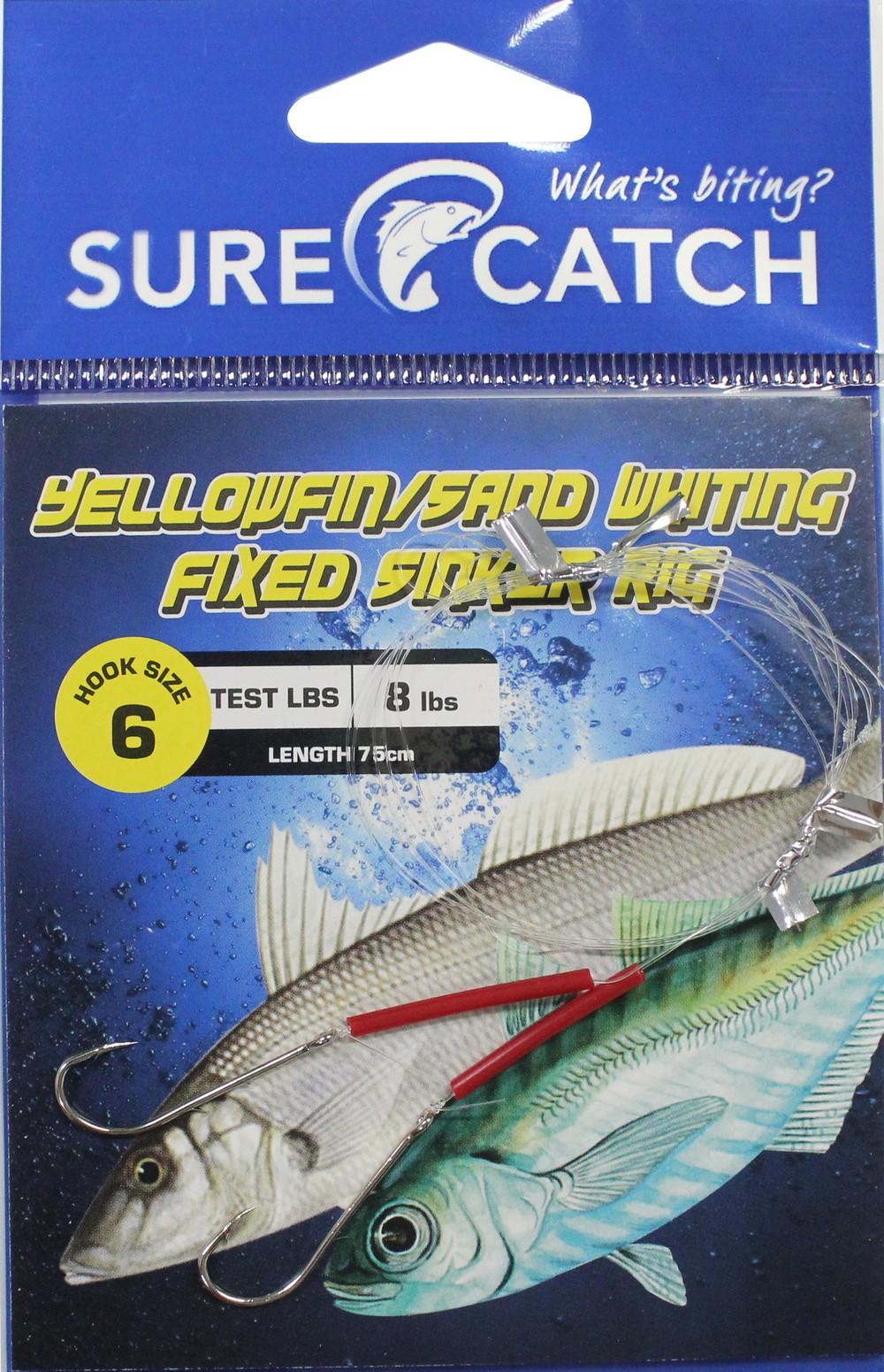 Sure Catch Whiting Running Rig - Size 6