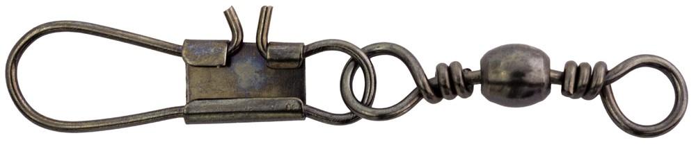 Mustad 20kg Interlock Snap Swivel (10 per Pack) - Size 5