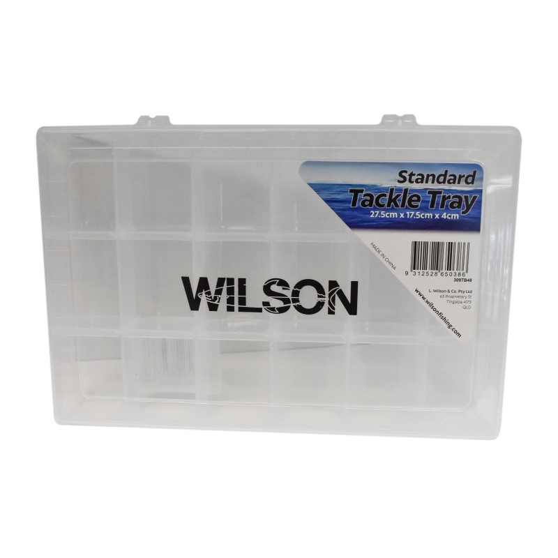 Wilson Sml Tackle Tray 18 Compartment  - 275 x 175 x 40mm