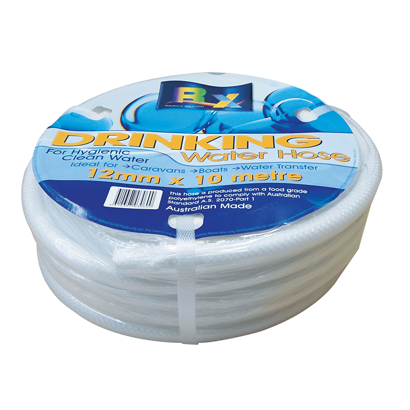 White Non-Toxic Reinforced Water Hose