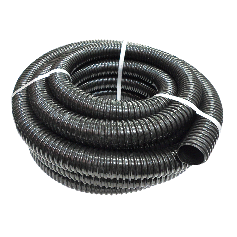 Black Flexible Waste Hose (38mm ID)