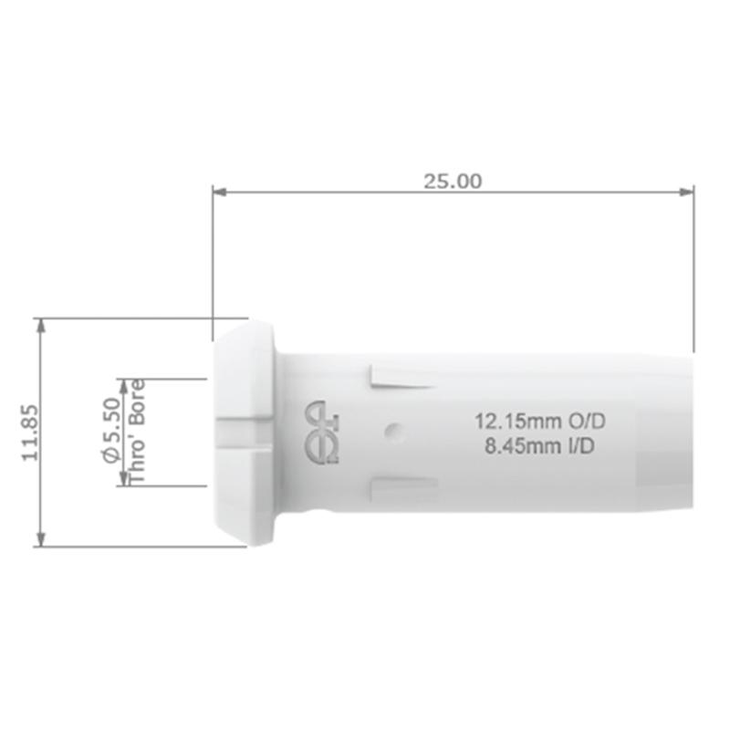 JG Watermark 12mm Tube Insert
