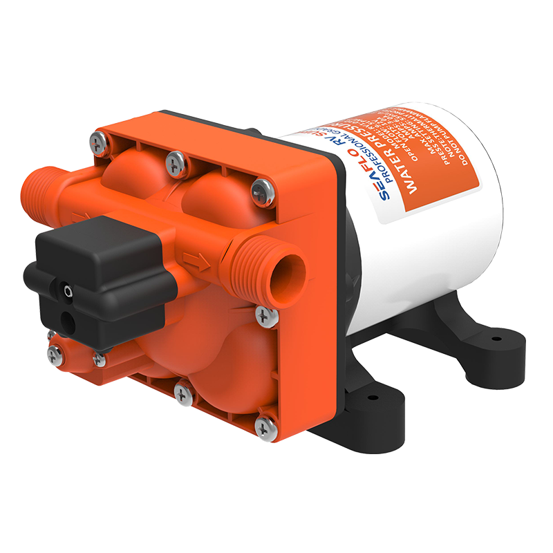SEAFLO RV Supreme 55psi/9.5LMP 12V Water Pump c/w Filter & Fittings
