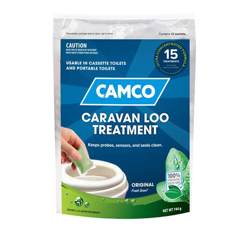 Camco Caravan Loo Treatment Fresh Scent - 15 Drop-Ins