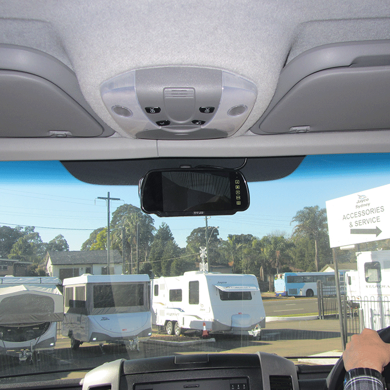 Motorhome Reversing Camera Kit (with white camera)