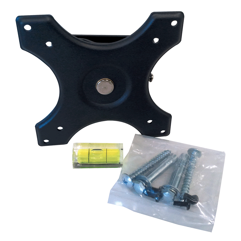 Sphere Wall Mounting Plate Kit (Black)