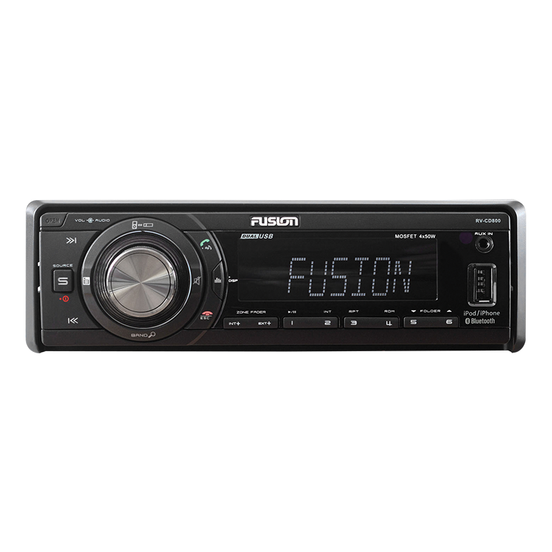 Fusion AM/FM Source Unit with Bluetooth (RV-CD800)