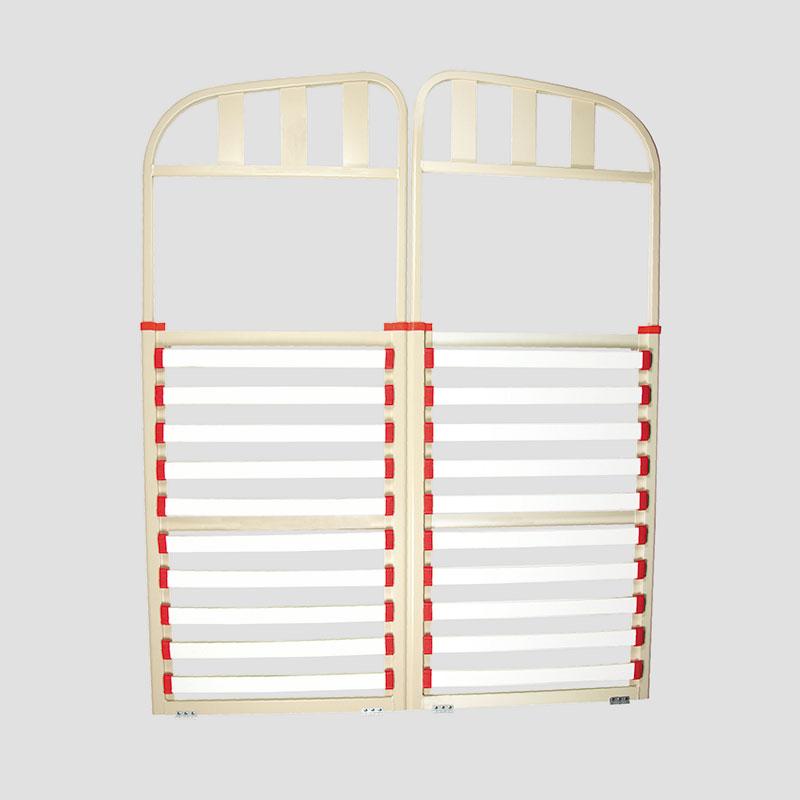 Caravan Bed Frame Aluminium Double Split Head Coast To