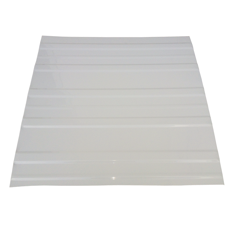 Aluminium Roof Sheeting (2.44m x 1.22m) CP48 Violetone White