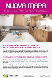 NUOVA MAPA TABLE LEGS & TOP
