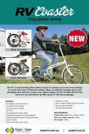 RV COASTER FOLDING BIKE
