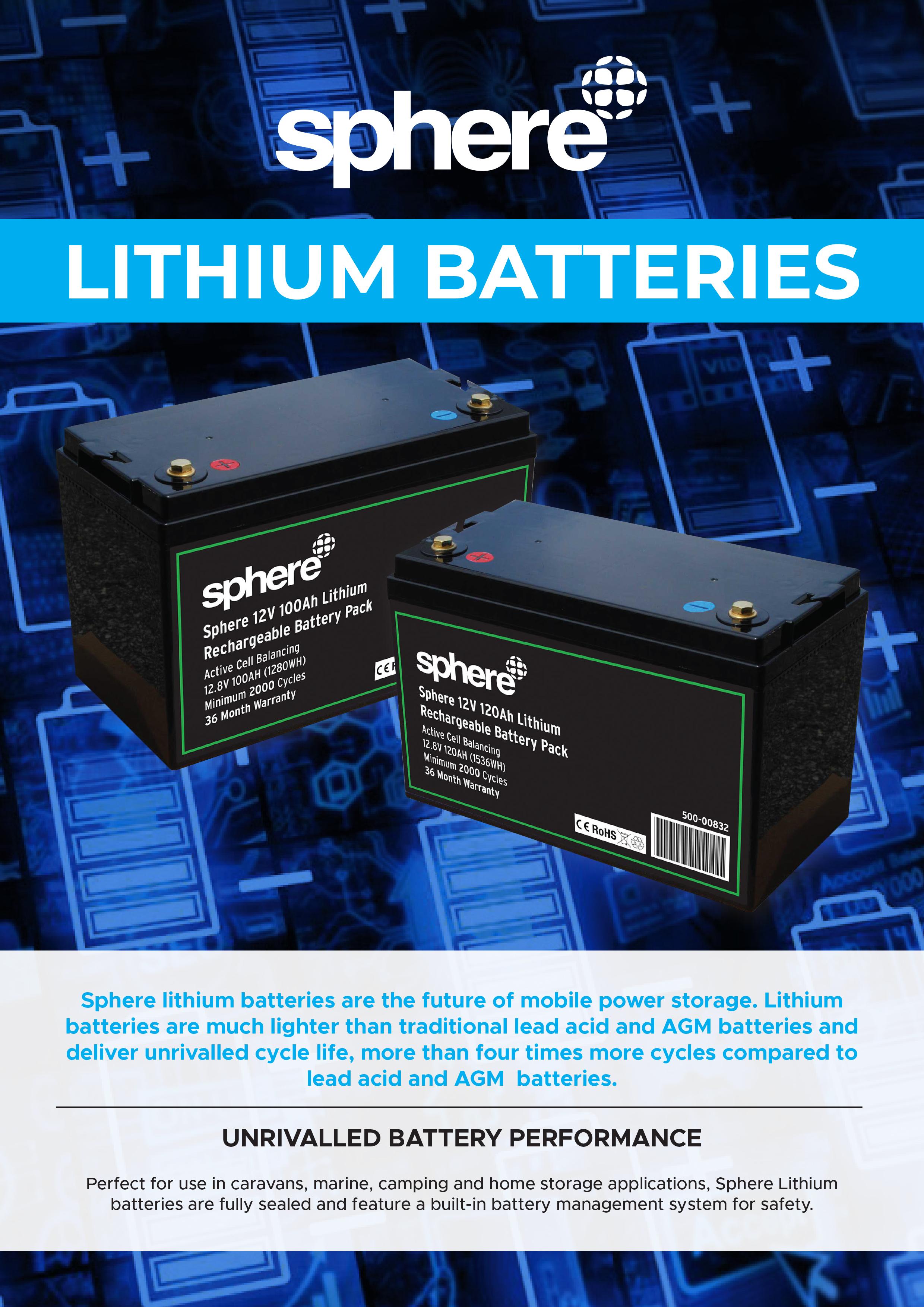 Sphere Lithium Batteries