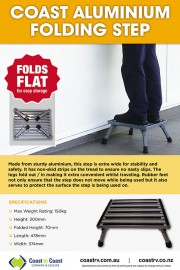 Coast Aluminium Folding Step