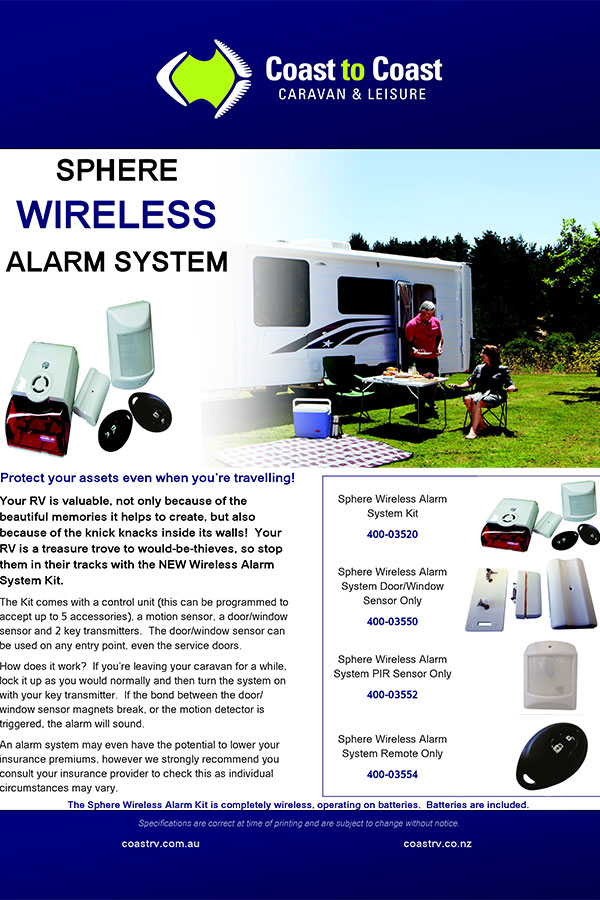wireless alarm brochure