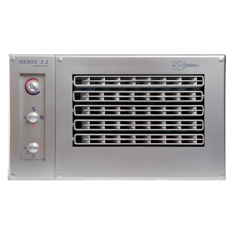 Aircommand Heron 2.2 Split System Caravan Air Conditioner Silver