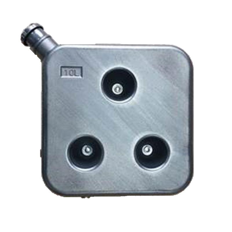 10L Diesel Heater Lockable Fuel Tank t/s Autoterm Heater - Black