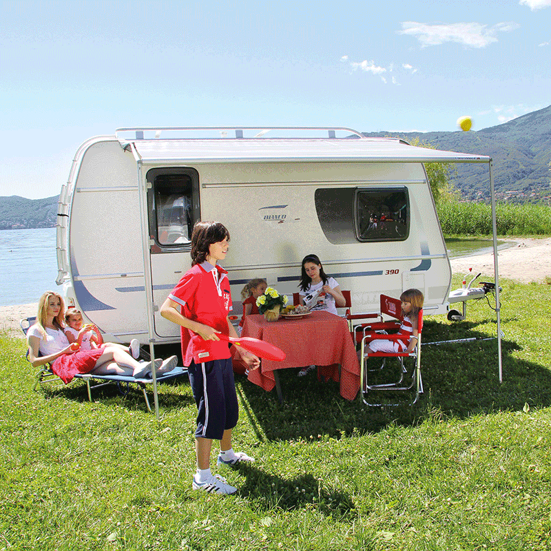 Fiamma Caravanstore 255 Royal Grey Awning