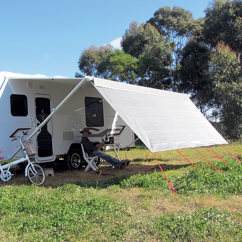 Front Sunscreen to Suit 16' Rollout Awning
