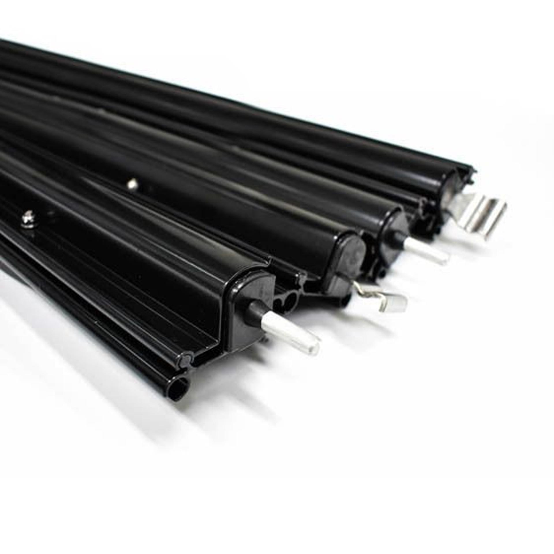 Aussie Traveller Aluminium Anti Flap Kit Black - Long