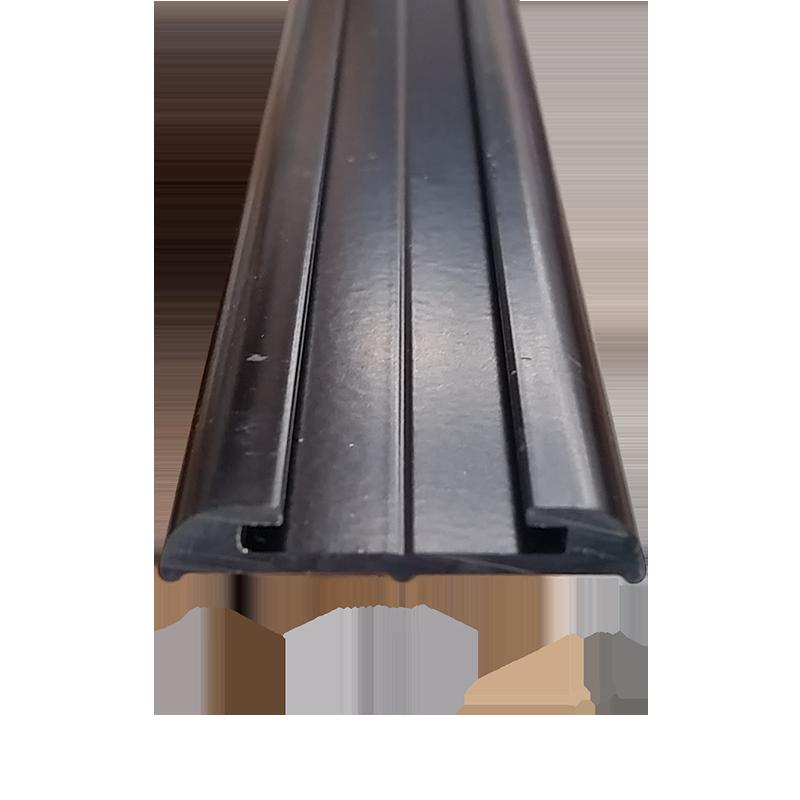 Truline Flat Aluminium Black (4.8m)