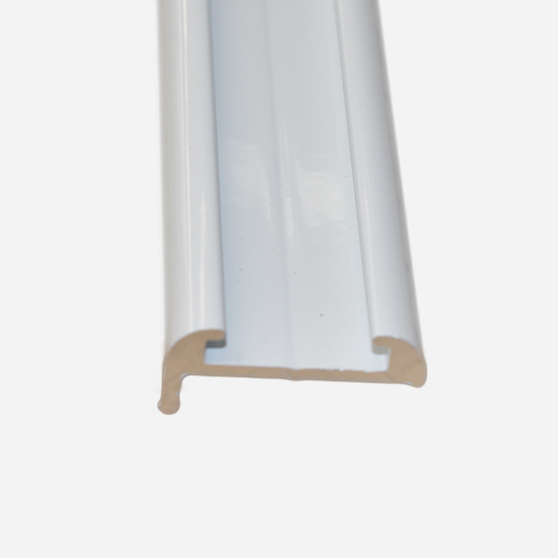 TRULINE ALUMINIUM WHITE J Mould - Narrow  4.8 M