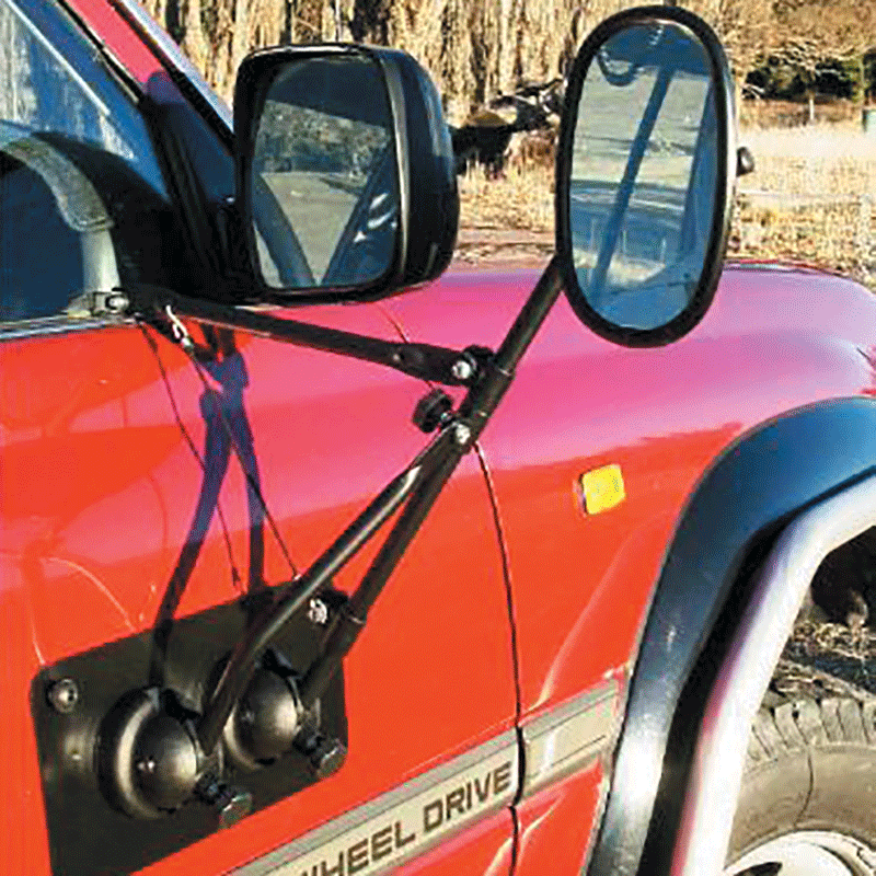 Enzo Italian Magnetic Door Mount Towing Mirror