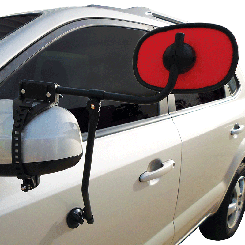Coppa Rossa Towing Mirror (With Suction Cup Mount)