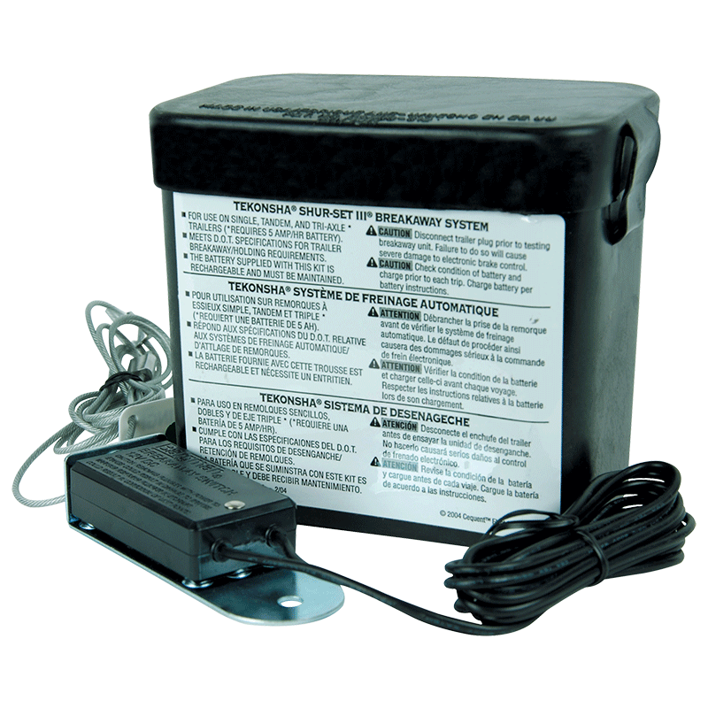 Tekonsha Breakaway Switch With ABCD Charger