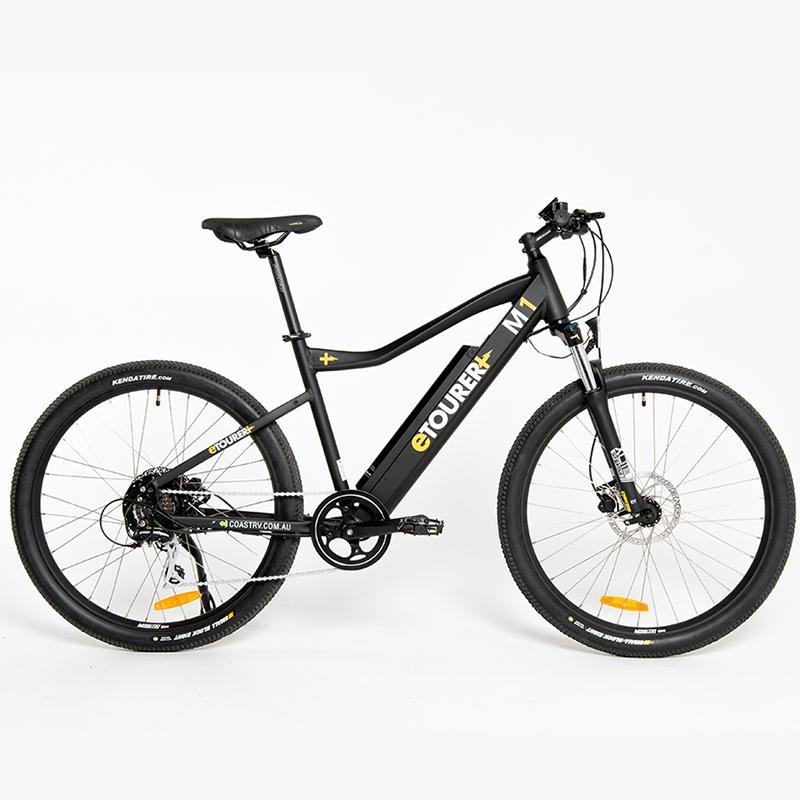 eTOURER M1 E-Bike MTB Model - Black