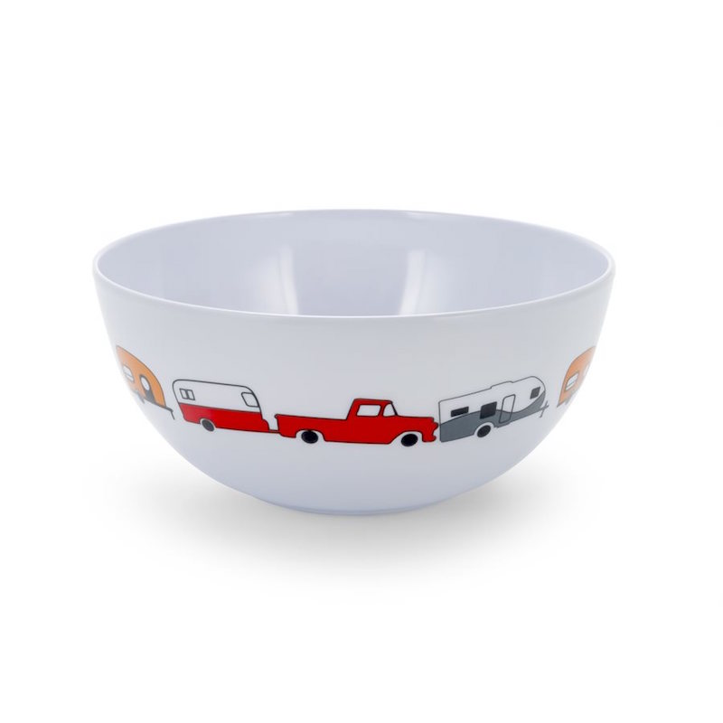 Camco Melamine Bowl RV Pattern