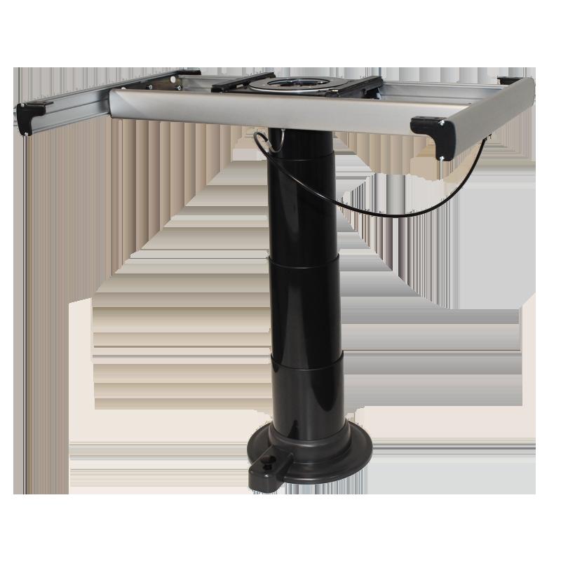 Black Nuova Mapa Telescopic & Adjustable Table Leg