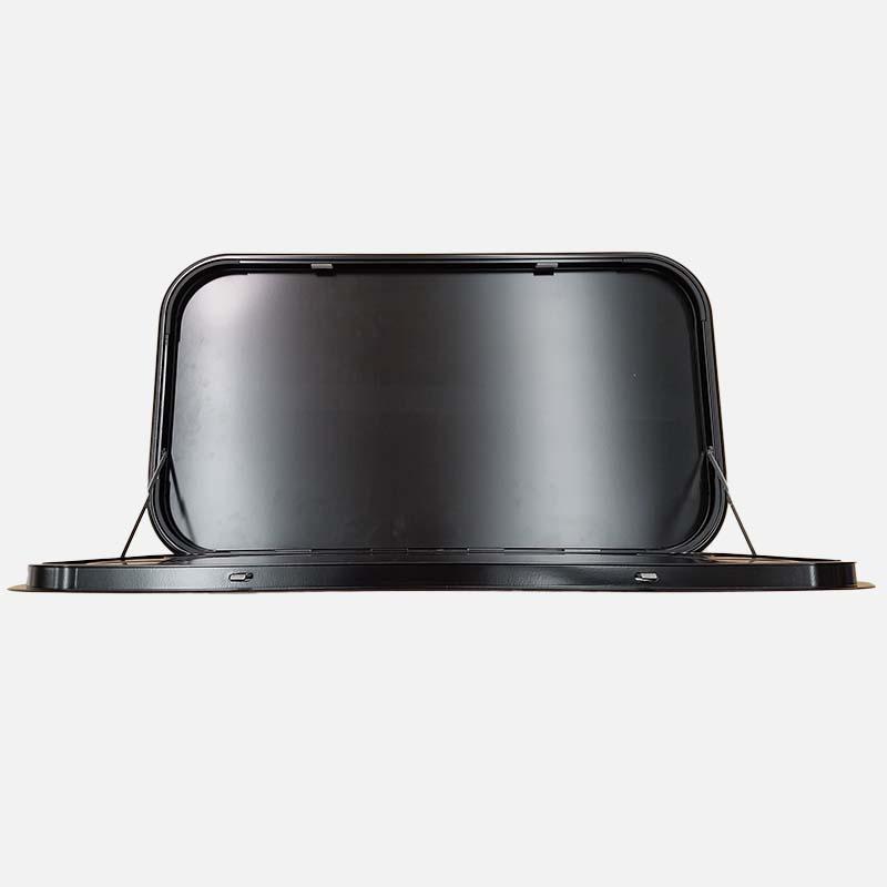 Picnic Table Black 800x450mm