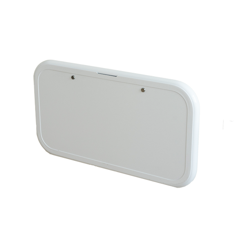 Caravan Picnic Table White 4RC & Backing Plate - 800 x 445mm