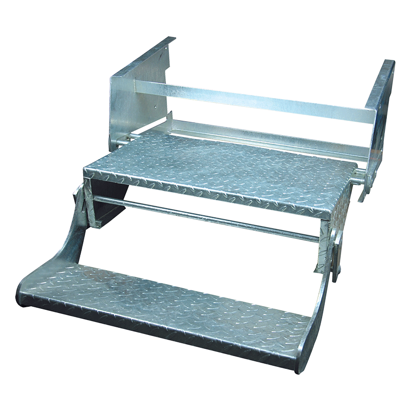 Double Pull-Out Caravan Step