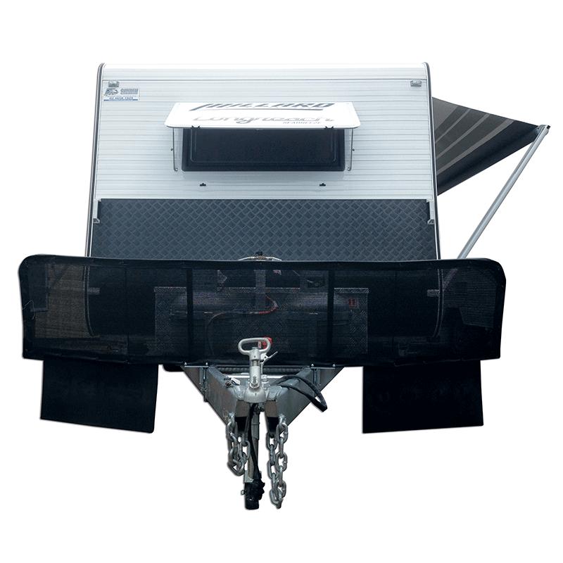 Caravan Stone Shield With Mesh - 2310mm x 500mm