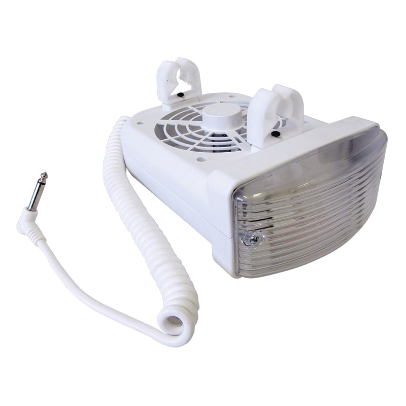 Fan and Light Combo (White)