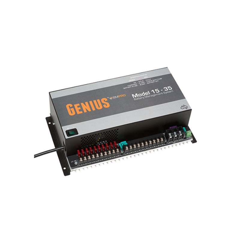 BMPRO Genius 15-35 Battery Management System (15A Charge). GENIUS 15-35
