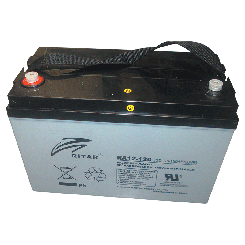 Ritar 12V 120Ah Agm Deep Cycle Battery