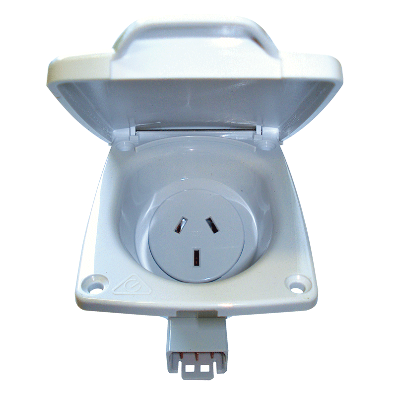 CMS 10AMP Double Pole Socket Outlet