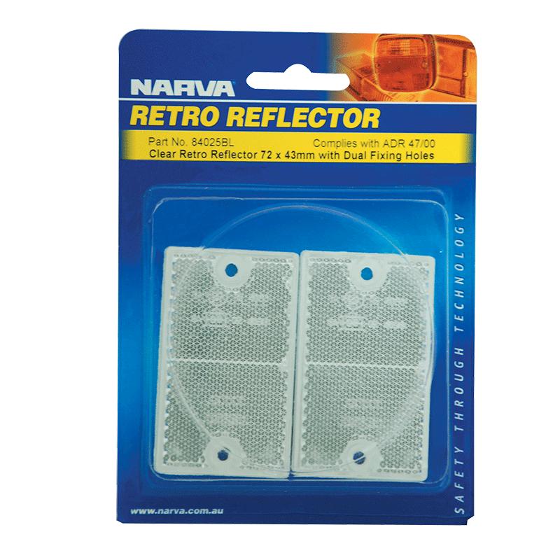 Narva Clear Retro Reflector