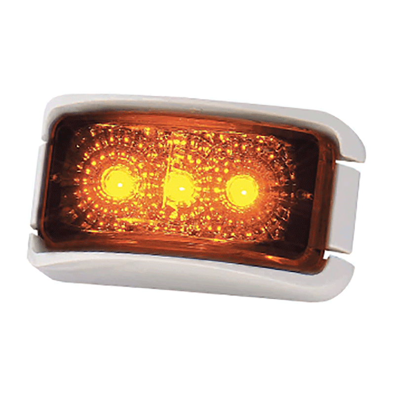 Coast LED Front Marker Lamp Amber