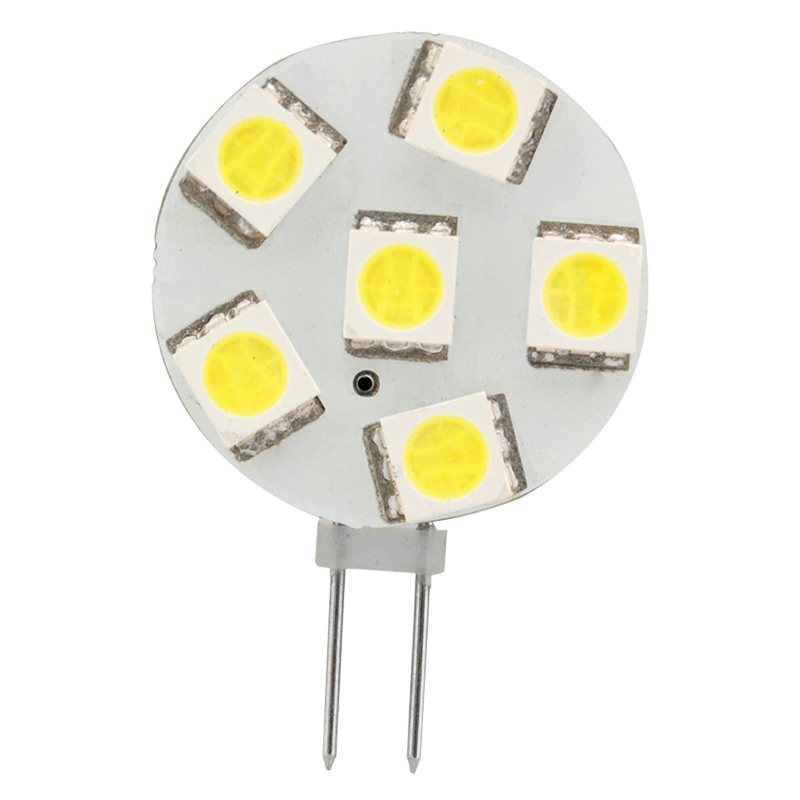 LED G4 Replacement Bulb Cool White Side Pin