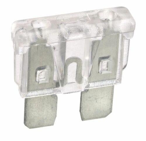 NARVA 25 Amp CLEAR ATS Blade Fuse - 50 Per Box. 52825