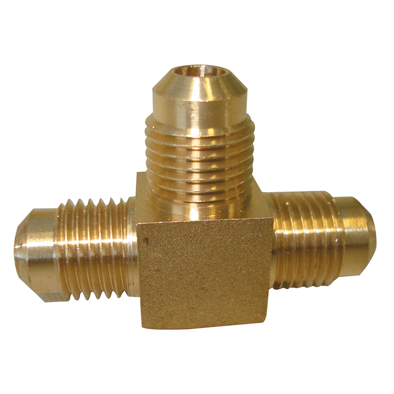 SAE All Male 3-Way Tee Connector 5/16